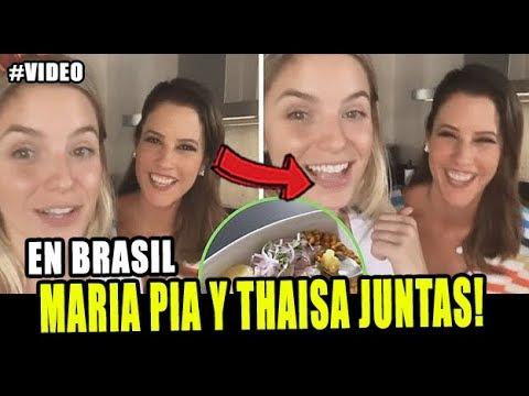 THAISA LEAL Y MARIA PIA COPELLO PREPARAN CEVICHE JUNTAS EN BRASIL