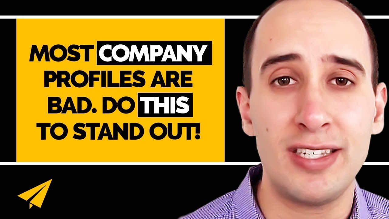 how to write up a company profile