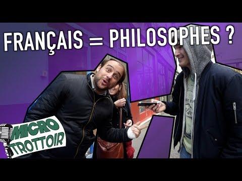 LES FRANÇAIS SONT-ILS PHILOSOPHES ?