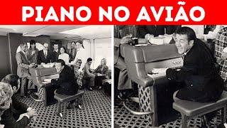 17 Coisas Incríveis Que Você Não Vê Mais Nos Aviões