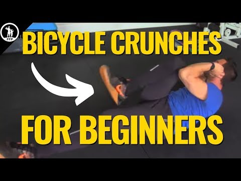 How To Do Bicycle Crunches For Beginners - The Proper Form, Muscle Building Benefits & Routine