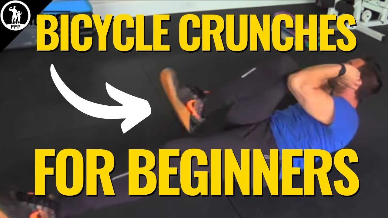 How To Do Bicycle Crunches For Beginners The Proper Form Muscle Building Benefits Routine Youtube