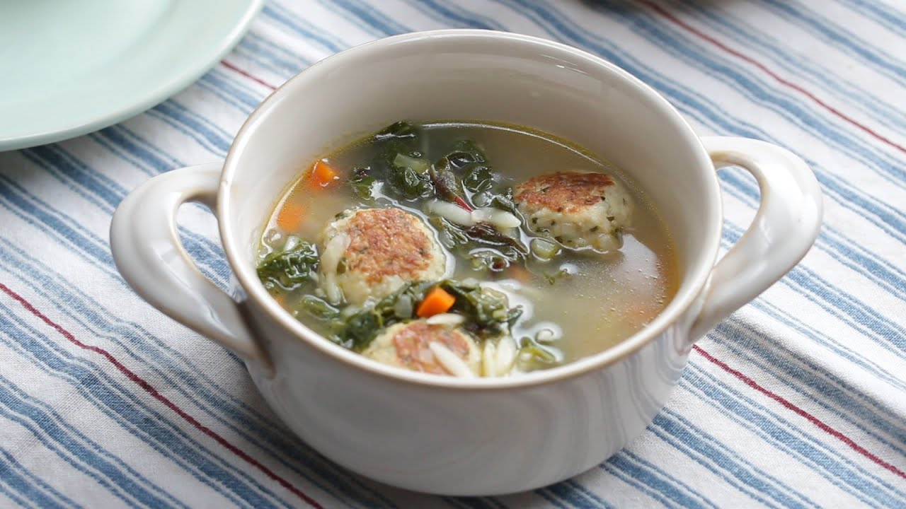 Chicken Meatball Soup Vs. Chicken And Dumplings