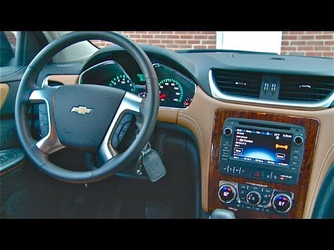 2014 Chevrolet Traverse Interior Review