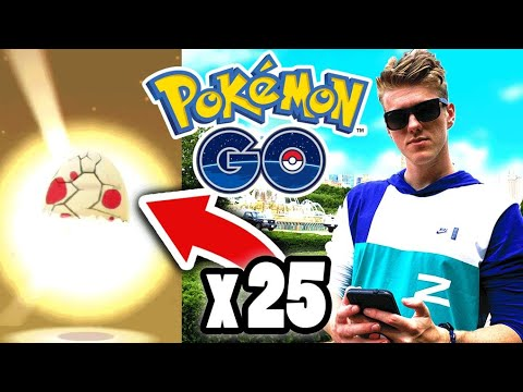 Pokemon Go Fest Exclusive 25 Egg Opening (Special Eggs)
