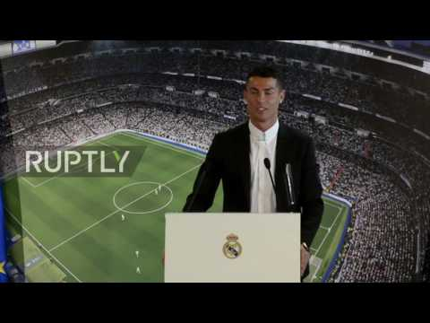 Spain: Ronaldo signs five year extension at Real Madrid - 동영상