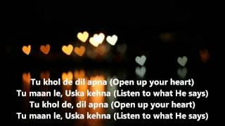 "Hindi Christian song - ""Yeshu Tere Dil me""- Gopal Masih (With Lyrics)"