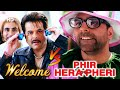 best of hindi comedy scene movie welcome v s phir hera pheri paresh rawal akshay kumar