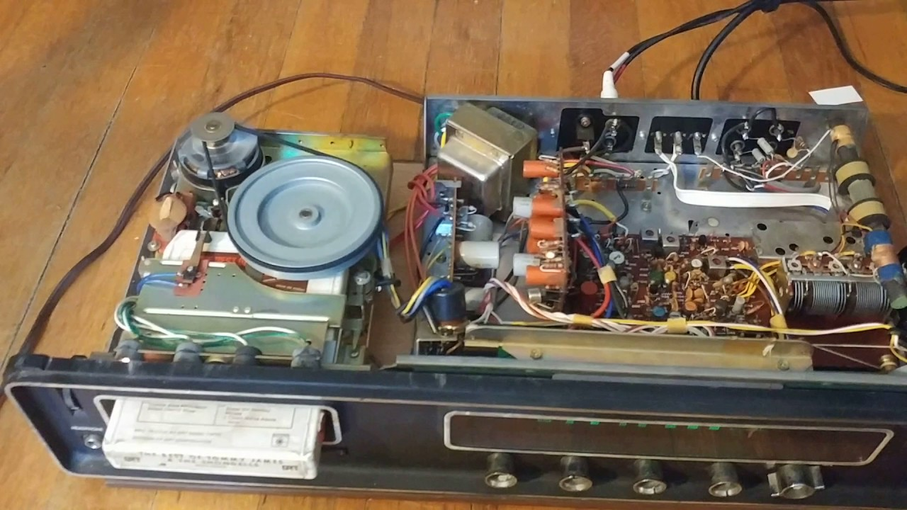 how fix an 8 track player belt for under 2 youtube realistic 8 track wiring diagram [ 1280 x 720 Pixel ]