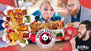 SHE ATE EVERYTHING AT PANDA EXPRESS (w/ Raina Huang) | Going In