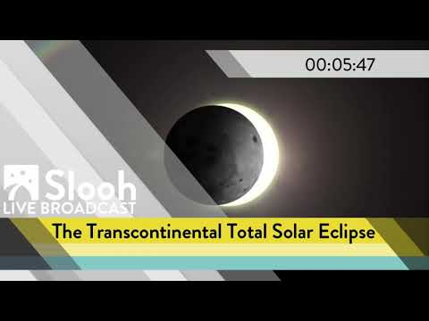 The Transcontinental Total Solar Eclipse