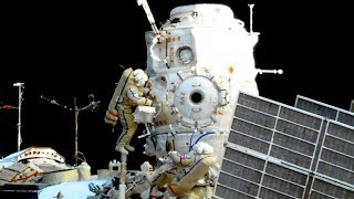 Full Russian Spacewalk EVA 43 ISS Expedition 52 (Yurchikhin, Ryazanskiy) Coverage