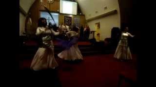 Menorah Dance Ministry @Concierto Dic 2010.AVI