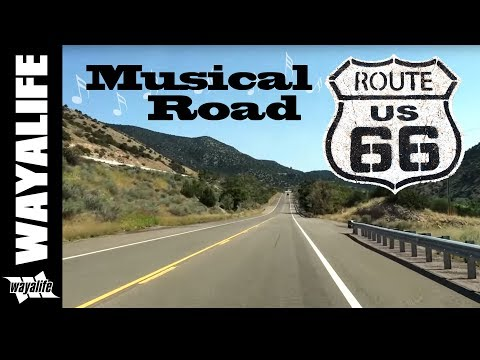 The Route 66 Musical Road - Tijeras, New Mexico