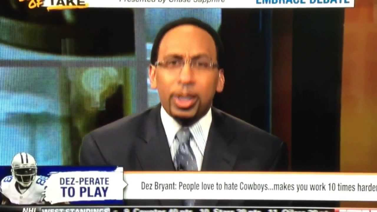 Stephen A Smith Rips Dallas Cowboys On Espn And Tells Us Why Hes A