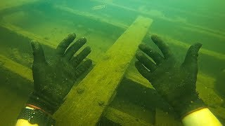 I Found a Sunken Ship While Scuba Diving! (Explored for Treasure)