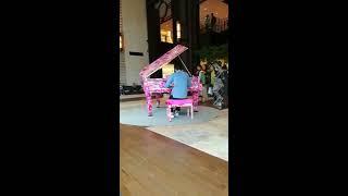 東京での思い出に丸の内アートピアノ行ってきました! ショパン バラー...