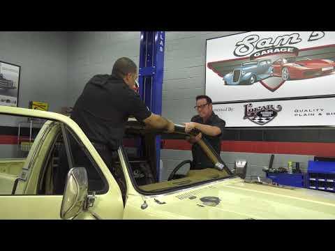 Sam's Garage S2 E1 - 73-87 Chevy & GMC Truck Windshield Install
