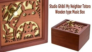 Totoro Wooden Music Box