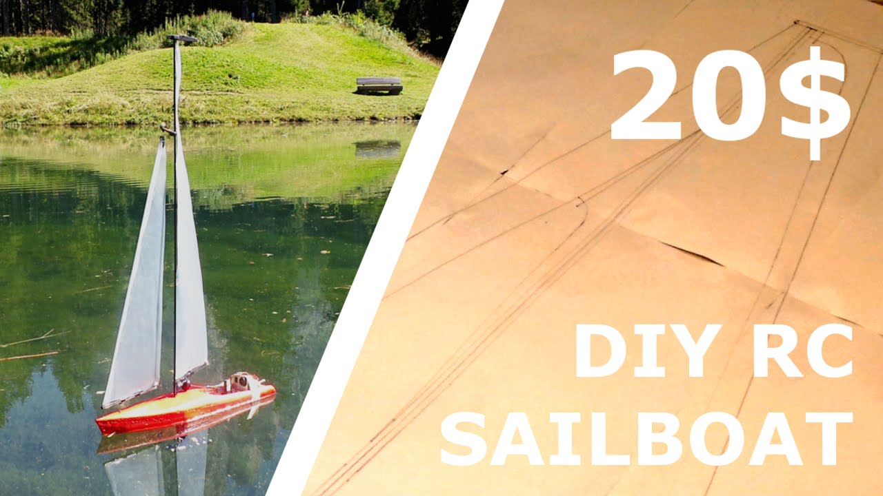 Diy Rc Sailboat For 20 Part 1