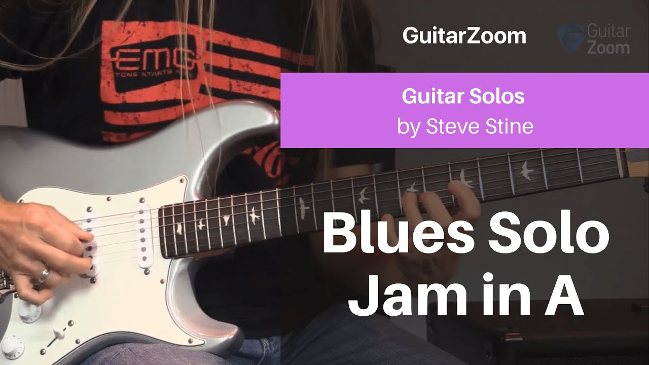 Blues Solo Jam in A | Guitar Solos Workshop