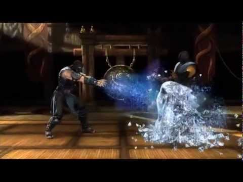 Mortal Kombat Komplete Edition Xbox 360 Finishing Moves Youtube