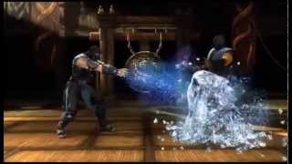Mortal Kombat Komplete Edition XBOX 360 Finishing Moves.