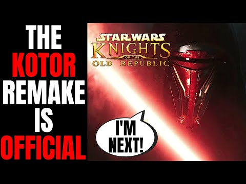 Knights Of The Old Republic Remake Is OFFICIAL   Will Disney Star Wars Destroy Revan Next?  