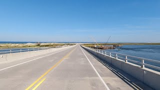 4K Drive - The Outer Banks, North Carolina, Nags Head to Hatteras Island