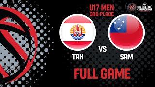 Tahiti v Samoa - Full Game - FIBA U17 Oceania Championships 2019