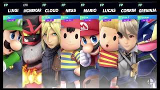 Super Smash Bros Ultimate Amiibo Fights   Request #1015 Smashing at Skyloft
