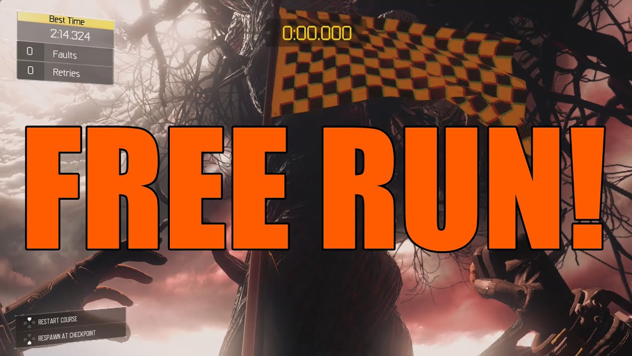 free run black ops 3 record