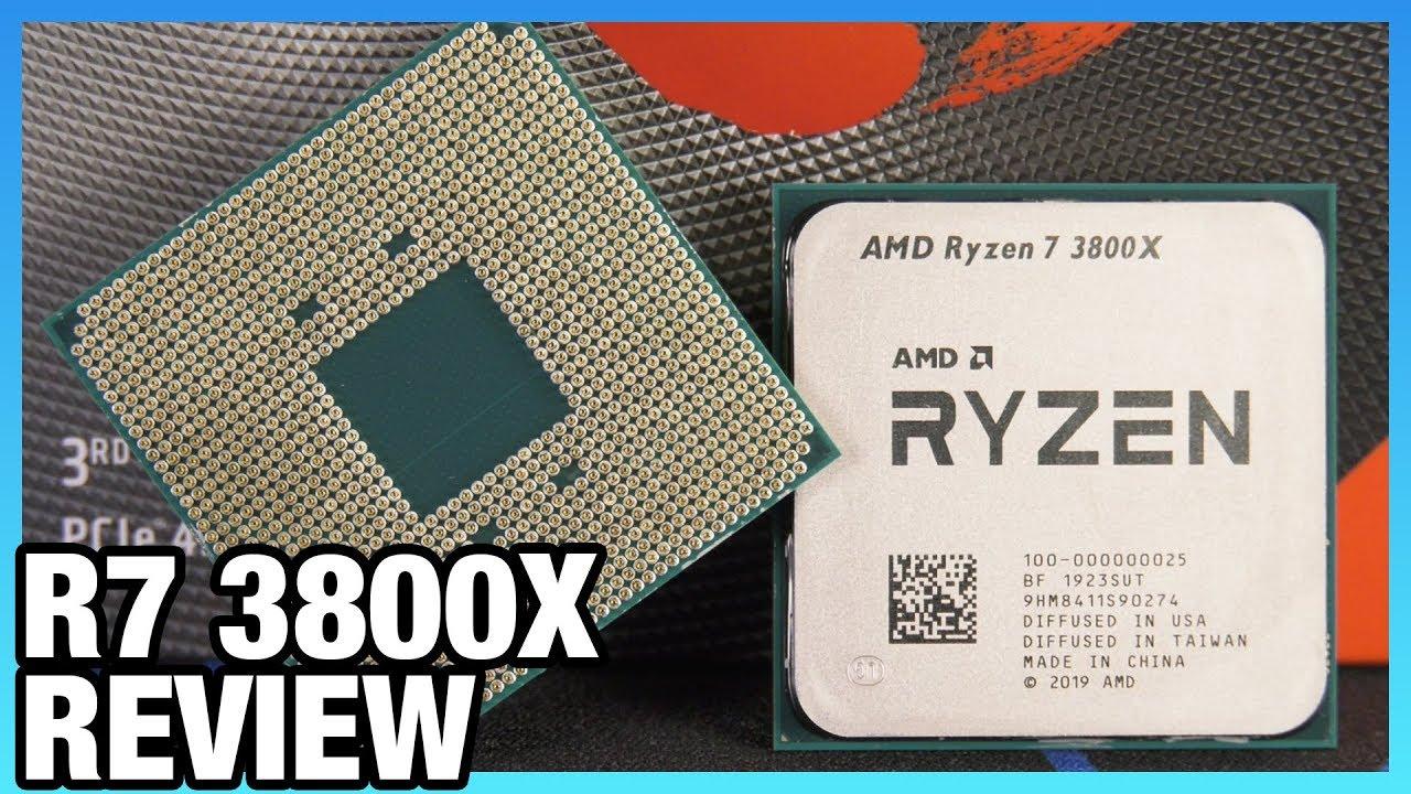 AMD Ryzen 7 3800X vs  3700X Review: Don't Waste the Money