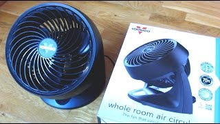 Vornado 533 - Size, Electrical Use, Noise Level Review and Demo