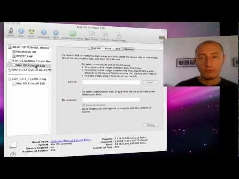 How to burn OS X Lion to Usb drive step by step guide