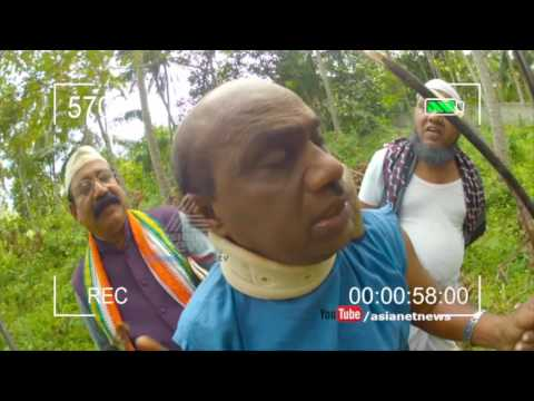 Munshi on  Oommen Chandy travels in KSRTC bus from Kollam stand29 July 2016