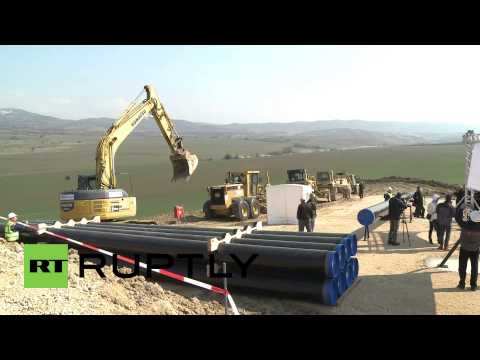 Macedonia: Russia's Stroytransgaz begins construction of gas pipeline