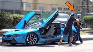 I Left i8 Open In The Hood And Here Is What Happened! (MUST WATCH!)