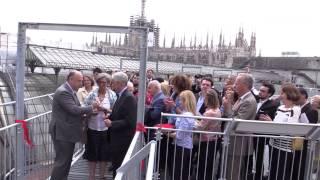 """Una passerella per camminare sui tetti della Galleria di Milano: """"Tutti potranno vedere questo luogo"""