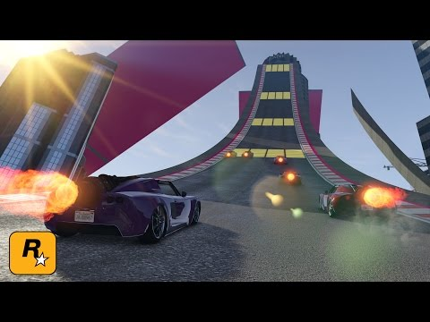 Special Vehicle Races with Swiftor, Luzu, BowskiJ & MrAmplified (GTA Online Live Stream)