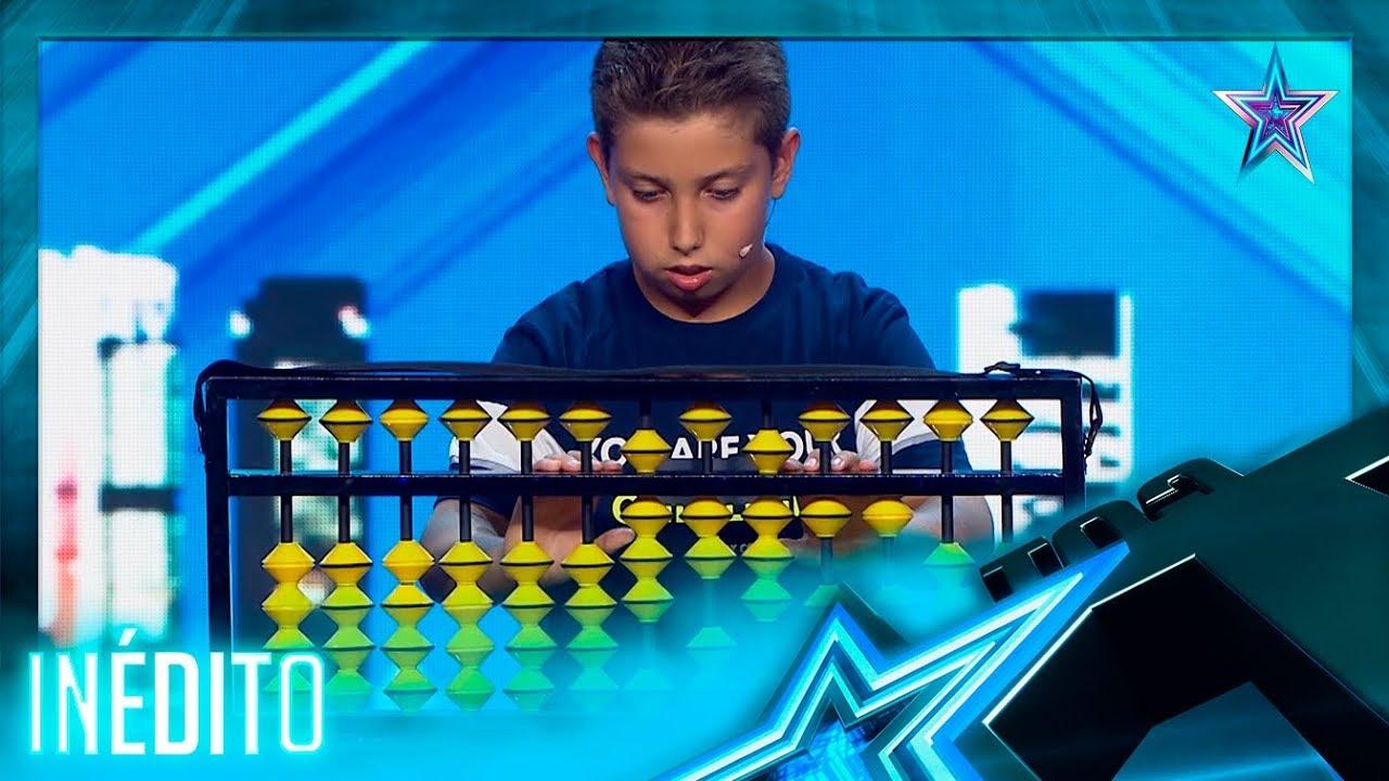¡ÁBACO JAPONÉS! Este NIÑO es un GENIO de las MATEMÁTICAS   Inéditos   Got Talent España 5 (2019)
