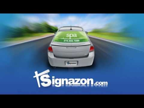 027bd57572baa7 How To  Installing a Rear Window Graphic   Window Canvas - YouTube