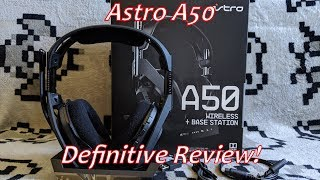 The Astro A50 Wireless Headset (Gen 4) Definitive Review
