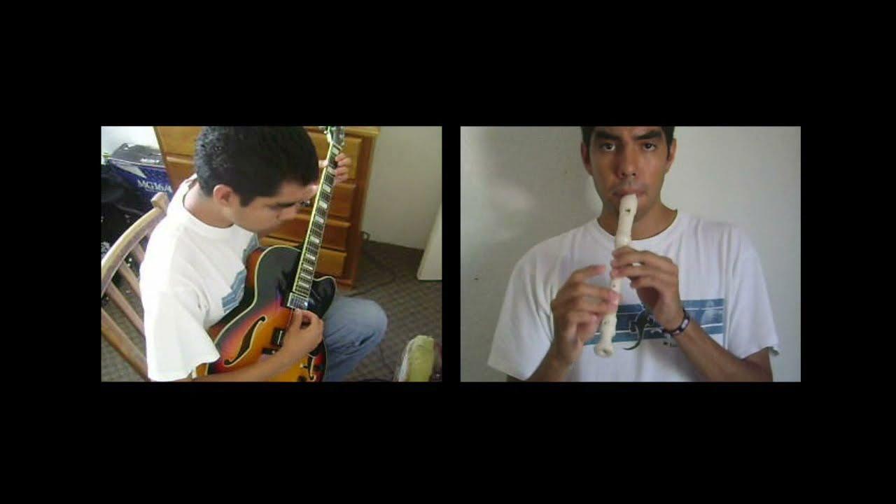 As the deer. Como el ciervo. Instrumental. [One man band]  Multitrack