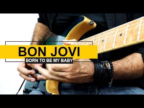 Bon Jovi - Born To Be My Baby | Solo Cover | Richie Sambora Guitar Solo