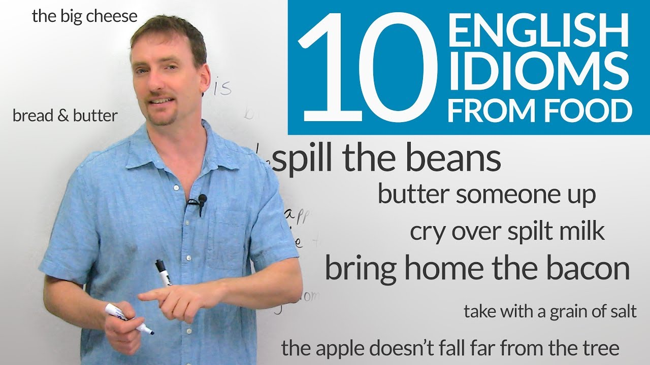10 English Idioms with Food