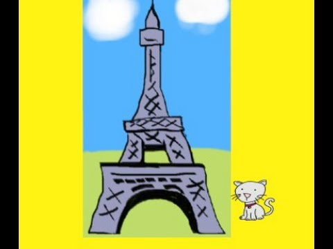 Children's French Eiffel Tower Song