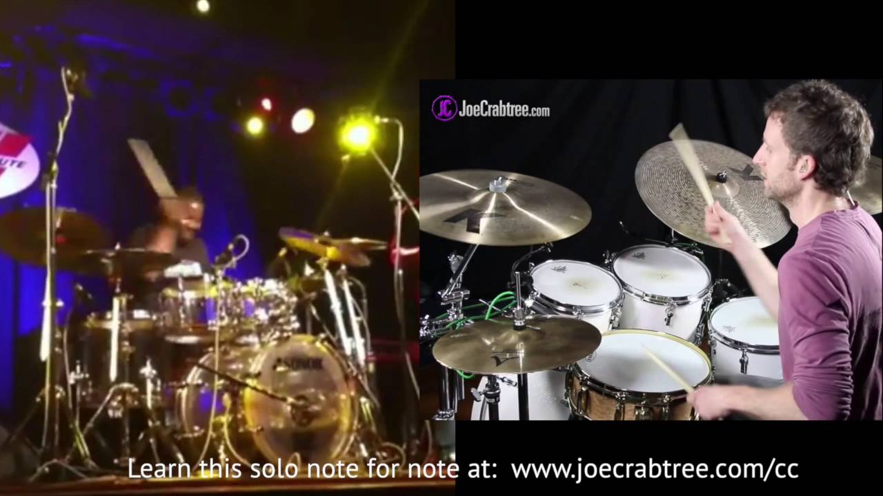 Download Chris Coleman Drum Solo [Drum Lesson] - learn an entire solo!