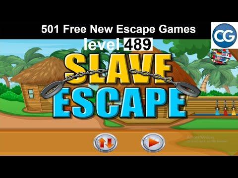 [Walkthrough] 501 Free New Escape Games Level 489 - Slave Escape - Complete Game