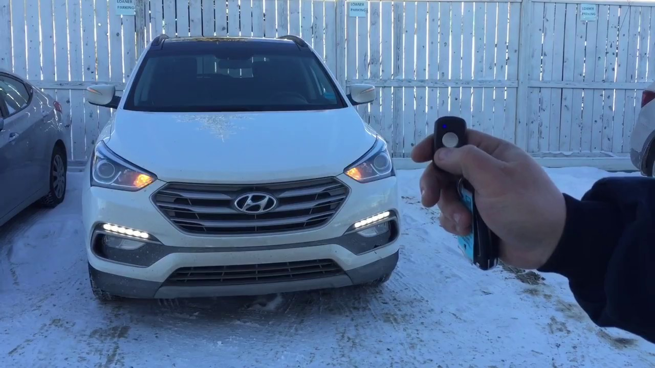 How To With Crowfoot Hyundai Two Way Remote Start Youtube